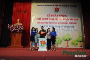 Đoàn Khối các cơ quan TP Hà Nội khởi động chiến dịch tình nguyện hè 2019