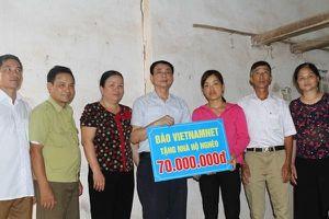 Trao tặng ' Ngôi nhà mơ ước' cho 2 hộ nghèo ở Thái nguyên