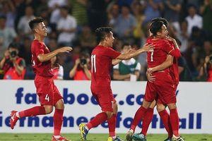 Highlights U23 Việt Nam 2-0 U23 Myanmar: Thắng thuyết phục trong trận 'thủy chiến'