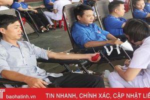 Tuổi trẻ Khối các cơ quan và doanh nghiệp Hà Tĩnh hiến 120 đơn vị máu