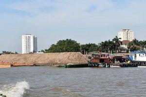 Kiến nghị đình chỉ phương tiện khai thác cát trái phép hoạt động có thời hạn