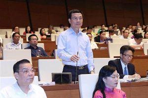 Bộ trưởng Bộ TT&TT Nguyễn Mạnh Hùng: Vấn đề lợi dụng không gian mạng để gây hại đang ngày một gia tăng.