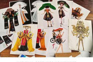 Chàng trai sở hữu 9 mẫu thiết kế National Costume nói gì về 'Bàn Thờ' và 'Sơn Tinh Thủy Tinh'
