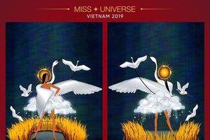 Xuất hiện bộ trang phục dân tộc được cho là 'linh hồn sống' của Hoàng Thùy tại Miss Universe 2019
