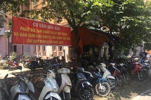 Nhóm người lạ gây rối, đòi quyền quản lý tòa chung cư ở Hà Nội