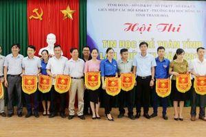 Thanh Hóa: 217 học sinh dự thi 'Tin học trẻ toàn tỉnh lần thứ XXII, năm 2019'
