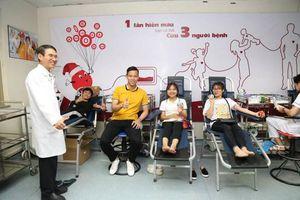 Ngày hội hiến máu: 'Sắc màu hành trình đỏ'