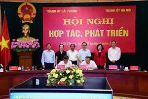 Tăng cường hợp tác, phát triển Hà Nội – Hải Phòng
