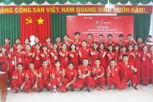 44 chiến sĩ Hành trình Đỏ mini Kiên Giang bước vào ngày tập huấn đầu tiên