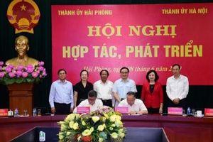 Hà Nội – Hải Phòng tăng cường hợp tác, phát triển trong giai đoạn mới