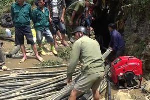 Tin mới vụ giải cứu người kẹt trong hang tại Si Ma Cai, Lào Cai