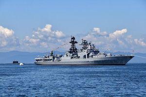 Nga và Mỹ cáo buộc nhau về sự cố tàu chiến tại Tây Thái Bình Dương