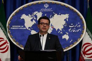 Iran chỉ trích Mỹ 'giả dối' với luận điệu vừa đàm phán vừa trừng phạt