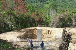 Dấu hiệu phá rừng để thi công điện: Chủ đầu tư cam kết khắc phục