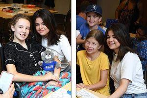 Selena Gomez rạng rỡ đi thăm các bệnh nhi sau ồn ào kết hôn