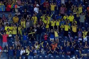 CĐV Thái Lan cổ vũ Curacao, ăn mừng sung sướng khi Việt Nam thua trận