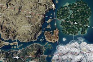 Ý tưởng map PUBG khổng lồ kết hợp tất cả map hiện tại