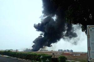 Sân bay Ấn cháy như không kích vì MiG-29 rơi thùng dầu
