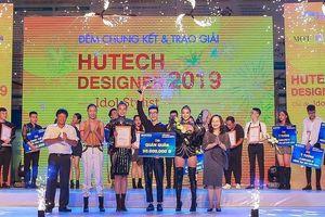 Trao giải chung kết cuộc thi Thiết kế thời trang HUTECH Designer 2019