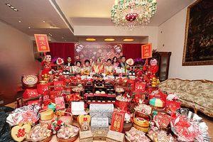 Hoa mắt với sính lễ toàn vàng ròng trong đám cưới con 'vua sòng bạc Macau'