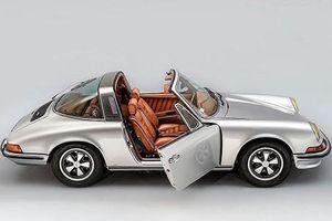 Porsche 911 Targa độ nội thất da thủ công Berluti siêu chất