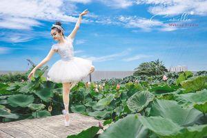Mãn nhãn bộ ảnh vũ công nhí múa ballet, diện cổ trang bên Quốc hoa