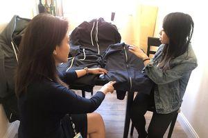Cô gái gốc Việt chế tạo áo chống đạn