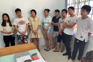 Phá đường dây đánh bạc quốc tế có 77 người Trung Quốc