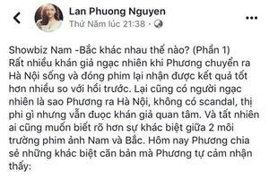 Diễn viên Lan Phương bị tố 'phân biệt vùng miền' khi nhận xét showbiz Bắc - Nam