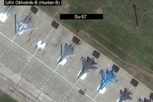 Ảnh vệ tinh hé lộ uy lực khủng khiếp của siêu UAV chiến đấu Nga