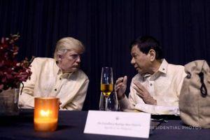 Ông Duterte xem xét mua lại vũ khí Mỹ vì 'thích' Tổng thống Donald Trump
