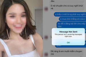 Nữ MC xinh đẹp bị tố thanh lý váy 500 nghìn nhìn chẳng khác giẻ lau lại nhắn khách hàng đem về tự giặt