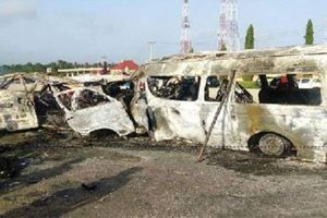 Ít nhất 18 người bị chết cháy trong vụ tai nạn ở Tây Nam Nigeria
