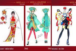 9 thiết kế trang phục dân tộc cho Hoàng Thùy bị bóc phốt đạo nhái, có bộ 'xào nấu' lại của H'Hen Niê