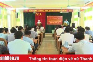Huyện Quan Hóa: Khai giảng lớp dự nguồn Ban Chấp hành Đảng bộ huyện và các chức danh lãnh đạo chủ chốt