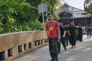 Lễ xuất quân Học kỳ quân đội 2019