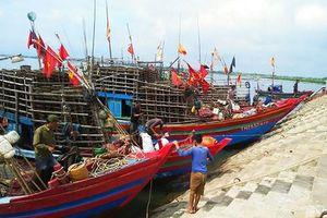 Ngư dân Hà Tĩnh khốn khổ vì cảng cá bị bồi lấp