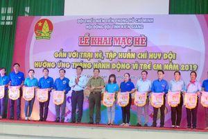 Kiên Giang: Khai mạc trại hè thiếu nhi hưởng ứng Tháng hành động vì trẻ em