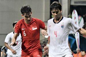 Highlights Merlion Cup: U23 Thái Lan 0-1 U23 Singapore
