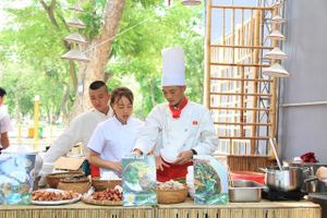 Bữa tiệc ẩm thực tại Hà Nội