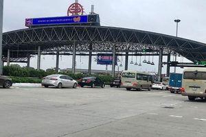 Trạm BOT Pháp Vân - Cầu Giẽ vẫn hoạt động thu phí bình thường