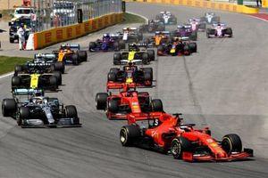 Vettel đánh rơi chiến thắng đáng tiếc ở Canada GP