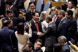Hình ảnh ấn tượng Việt Nam tại Liên hợp quốc