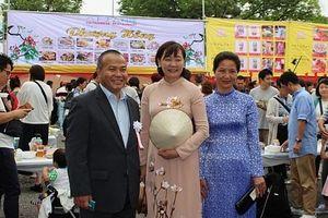 Lễ hội Việt Nam thu hút kiều bào và bạn bè quốc tế tại Nhật Bản