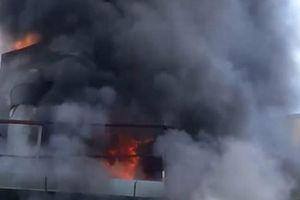 Cháy lớn tại cơ sở lắp ráp đồng hồ