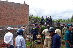 Sập nhà trong lúc đổ trần bê tông ở Pleiku, chủ thầu tử vong