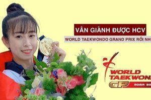 Châu Tuyết Vân cùng đồng đội vô địch Taekwondo thế giới