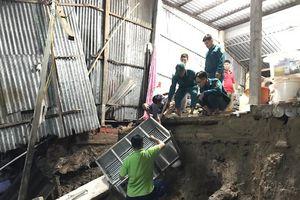 Sạt lở đất liên tiếp ở Năm Căn, thiệt hại tiền tỉ