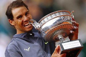 Hạ gục Dominic Thiem, Rafael Nadal lần thứ 12 vô địch Roland Garros