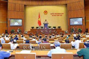 Quốc hội bước vào tuần làm việc cuối Kỳ họp thứ 7: Quyết nghị nhiều nội dung quan trọng